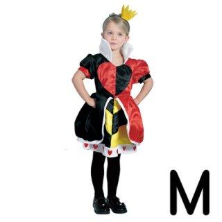 【子供用】コスチューム   仮装  チャイルド  M  ハートの女王   【Disney】