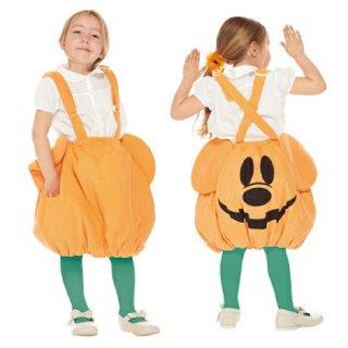 【子供用】コスチューム   仮装  チャイルド パンプキンミッキーパンツ  かぼちゃパンツ型スカート  【Disney Mickey】