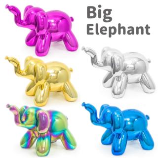 Balloon Money Bank ビッグ エレファント 貯金箱 【Big Elephant】【バルーンピギーバンク】