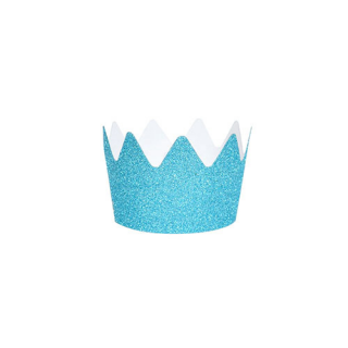 【MY LITTLE DAY】グリッタークラウン ブルー 8個入