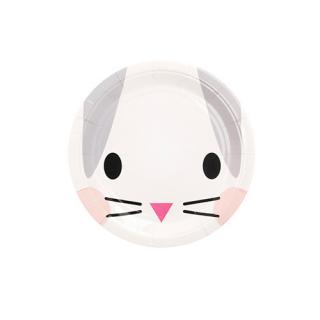 【MY LITTLE DAY】ペーパープレート ラビット Φ18cm 8枚入【うさぎ】