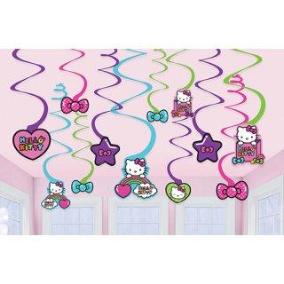 スワールデコレーション ハローキティレインボー 【Hello Kitty】