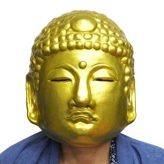 ラバーマスク 仏様 仏像 黄金【ハロウィン】