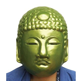 ラバーマスク 仏様 仏像【ハロウィン】