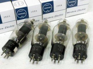 Western Electric 350A 4本 [17244]