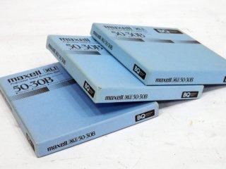 maxell 50-30B 3本 オープンリールテープ [16338]