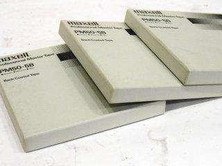 maxell PM50-5B 3本 オープンリールテープ [16339]