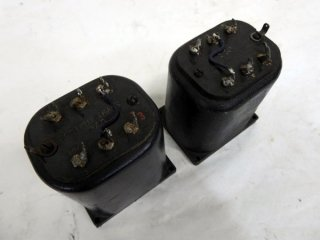 Western Electric 127D OUTPUT BLACK 2個 [18071]
