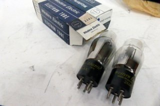 Western Electric 244A 2本 [19510]