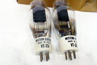 Western Electric VT25 2本 [19566]