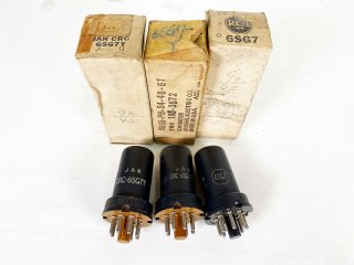 RCA etc 6SG7 3本 [21064]