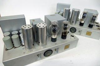 Western Electric 91A AMP リプロ品 真空管無 2台 [21730]
