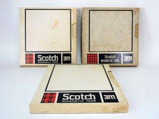 Scotch Magnetic Tape 10号 206-1/2 762R 3巻 [21808]