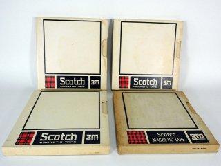 Scotch Magnetic Tape 10号 206-1/2 762R 4巻 [21809]