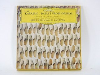 7号テープ Deatsche Grammophon KARAJAN 「BALLET FROM OPERAS」1巻 保証外品 [21851]