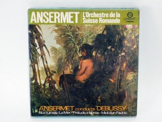 7号テープ LONDON/DECCA ANSERMET CONDUCTS「DEBUSSUY」1巻 保証外品 [21859]