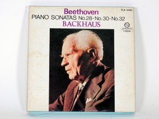 7号テープ LONDON/DECCA BEETHOVEN「PIANO SONATAS No.28,30,32」1巻 保証外品 [21860]