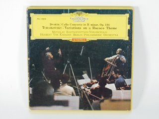 7号テープ Deutsche Grammophon DVORAK Cello Concerto in B minor, Op.104 1巻 保証外品 [21912]