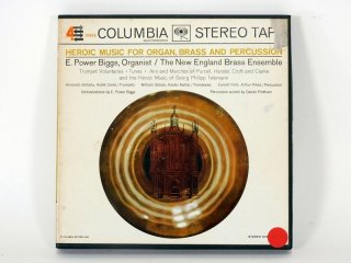 7号テープ COLUMBIA HEOROIC MUSIC FOR ORGAN. BRASS AND PERCUSSION 1巻 保証外品 [21915]
