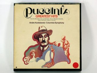 7号テープ COLUMBIA PUCCINIS GREATEST HITS 1巻 保証外品 [21918]