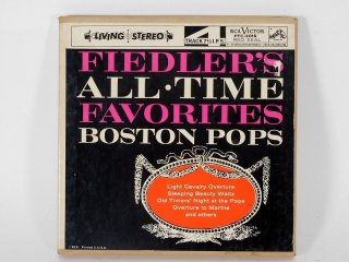 7号テープ RCA VITOR Fiedlers ALL-TIME Favorites 1巻 保証外品 [21919]