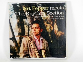10号テープ 録音品 CONTEMPORARY ART PEPPER「THE RHYTHM SECTION」保証外品 [22234]