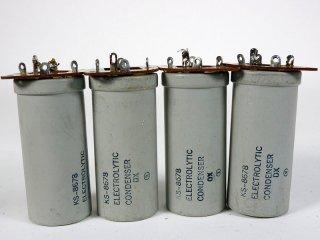 Western Electric KS-8678 200V 200MFD 4個 [22861]