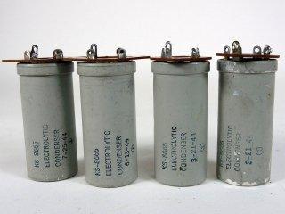 Western Electric KS-8665 200V 200MFD 4個 [22862]