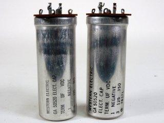 Western Electric GA-50520 350V 125MFD 2個 [22864]