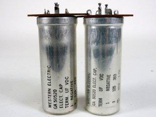 Western Electric GA-50520 350V 125MFD 2個 [22865]