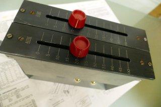 ALTEC ラインアッテネーター フェーダー 600Ω/600Ω 1set [22973]