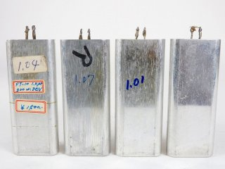 Western Electric FJ-10 COND 4個 [23347]