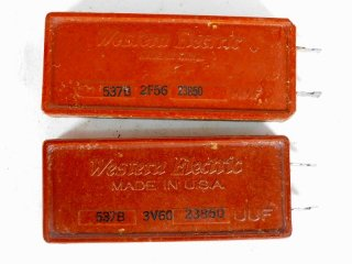 Western Electric 537B 23850P 2個 [23289]