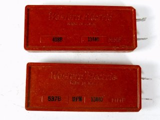 Western Electric 537B 13440P 2個 [23252]