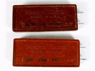 Western Electric 537B 10450P 2個 [23208]