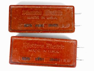 Western Electric 537B 28450P 2個 [23205]