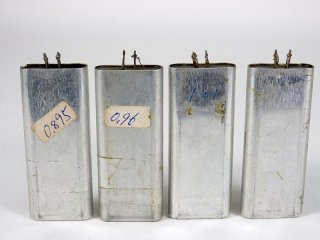 Western Electric FJ-10 COND 4個 [23191]