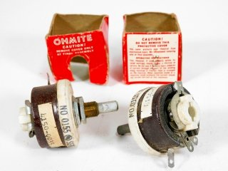 OHMITE 350Ω 25W POTENTIOMETER 2個 [23695]