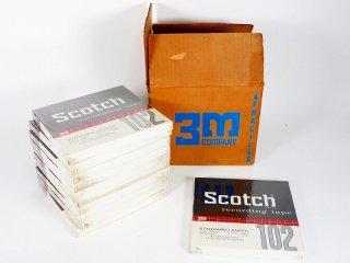 Scotch 7号テープ 102-1/4-1200 未使用品 11巻 [23761]