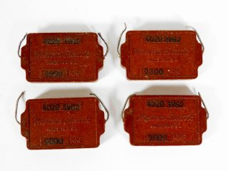 Western Electric 402B 4個 保証外品 [23779]