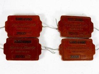 Western Electric 538D 4個 保証外品 [24067]