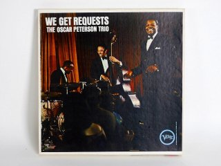 10号テープ 録音品 Verve WEGET REQUESTS THE OSCAR PETERSON TRIO 保証外品 [24084]