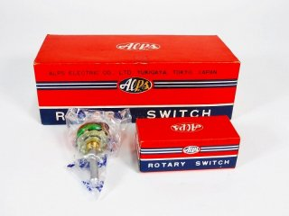ALPS M-34 ROTARY SWITCH 10個 [24180]