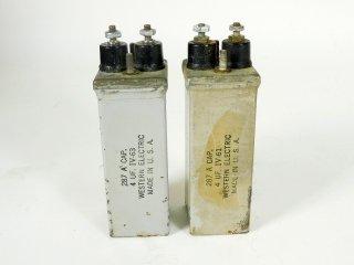 Western Electric 287A 400V 4MFD 2個 [24488]