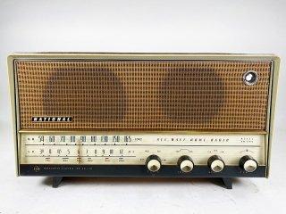 ナショナル AM-540 真空管式ラジオ 1台 保証外品 [24642]
