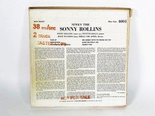 10号テープ 録音品 BLUE NOTE SONNY ROLLINS「NEWKS TIME」1巻 保証外品 [24682]