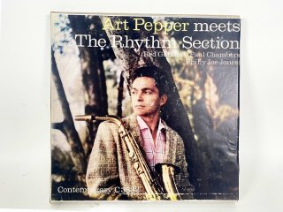 10号テープ 録音品 CONTEMPORARY ART PEPPER「THE RHYTHM SECTION」保証外品 [24684]