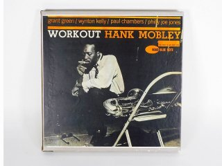 10号テープ 録音品 BLUE NOTE HANK MOBLEY「WORKOUT」1巻 保証外品 [24687]