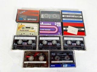 【まとめ売り】 カセットテープ 中古品 計11本 [24713]