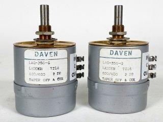 DAVEN LAQ-350-G アッテネーター 2個 [24754] ★ASK★
